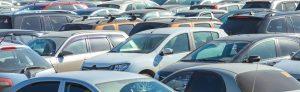 Ein Autohandel als Symbol für Händlereinkaufspreise.