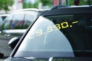 Wertverlust beim Gebrauchtwagenverkauf